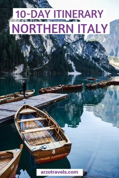 Planning a trip to Northern Italy and wondering about the best places to visit? Here are my top tips for things to do and see in Northern Italy in 10 days. I 10 days in Northern Italy I North Italy travel tips I Where to go in Northern Italy