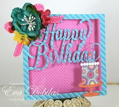 Happy Birthday girlie!Three amazing birthday cards from Petaloo DT member Eva Dobilas.  She features Doodlebug Sweet Shoppe paper and Botanica flowers!!  See them on our Blog!