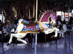 Carousel Animals | Carnival Carousel Armored Horse | Carousel animals and rocking horses