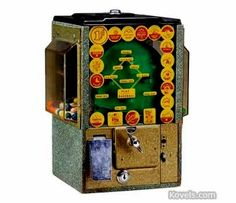 vintages gumball machine | Vintage Baseball Gumball Machine