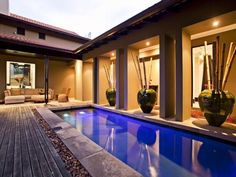 Extraordinary living spaces define this superbly designed and furnished 5-bedroom Zimbali Forest Retreat. #beachbeauty #Zimbali #Ballito