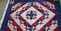 This is another quilt by Joyce, perfectly pieced. I love working with quilts such as this. The photos don't do the fabrics justice . Th...