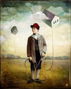 'A Child's Dream' by Christian  Schloe on artflakes.com as poster or art print $18.03