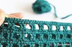 Crochet Wool, Tunisian Crochet, Crochet Chart, Learn To Crochet, Crochet Stitches, Crochet Patterns, Handmade Purses, Knitted Bags, Baby Blanket Crochet