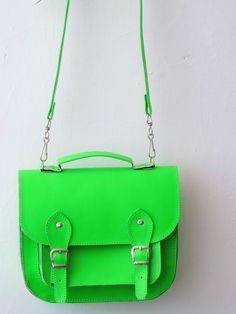 Bag number 3 vegan satchel by goldenponies on Etsy