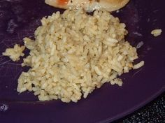 Yummy Seasoned Minute Rice from Food.com: Great in a Pinch!!  tired of the same ol' plain ol' white rice?  well here's an quick combo of herbs to jazz up that boring oldie that rivals any Rice-A-Roni box.  i serve this on the side of my Hawaiian style chicken kabobs and its fantastic!