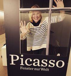 via Instagram piajedda: The PiaCasso view #picassome #buceriuskunstforum #picasso