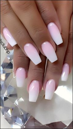 Cute and Beauty Ombre Nail Design ideas for This Year 2019 - Page 18 of 24 - Dai. :separator:Cute and Beauty Ombre Nail Design ideas for This Year 2019 - Page 18 of 24 - Dai. Best Acrylic Nails, Summer Acrylic Nails, Light Pink Acrylic Nails, Pink Summer Nails, Summer Nail Polish, Glitter Nail Polish, Cute Spring Nails, Ombre Nail Designs, Dream Nails