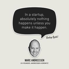 #Inspirational #Quote About #Business and #Entrepreneurship - Marc Andreessen