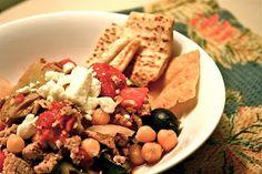 the given life: Rachel's Greek Chili