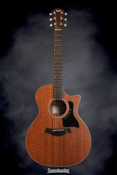 Taylor 324ce Mahogany Top Grand Auditorium Acoustic Electric - with Cutaway | Sweetwater.com