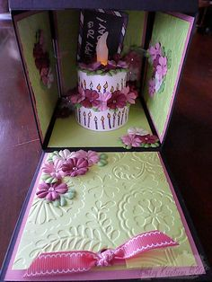 Magic 70th Birthday Box 2/3 by RiverIsis - Cards and Paper Crafts at Splitcoaststampers