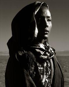 Waris Dirie (Albert Watson)  #Morocco
