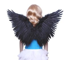 Maleficent Black Feather Wings  available here: http://towardthestars.com/Product-Maleficent_Black_Feather_Wings-4004.html
