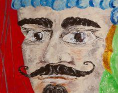 Sicilian Moro  acrilic on paper 50x40