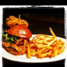 Best hamburger in OKC! At Bricktown Brewery - Remington Park!