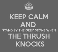 """I did not in any way keep calm when I watched that last bit of AUJ. """"Stand by the grey stone when the thrush knocks, and the setting sun with the last light of Durin's Day will shine upon the key-hole."""" <3"""