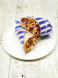 Rainbow salad wrap | Jamie Oliver | Food | Jamie Oliver (UK)