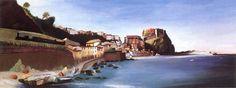 Город на берегу моря, ок.1902 (700x263, 187Kb)