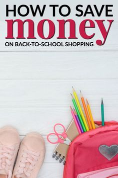 HOW TO SAVE MONEY ON BACK TO SCHOOL SHOPPING Whether your children are starting college or kindergarten, there are ways to source everything they need without putting too much stress on your finances. Back To School Deals, Back To School Hacks, Back To School Gifts, Back To School Shopping, First Day Of School, School Stuff, Middle School, School Ideas, Budget Help