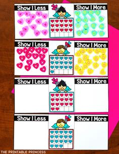 This resource includes18 literacy and math activitieswith an adorable Valentine's theme. The skills included in this resource are perfect for Kindergarten during the month of February. There's no recording sheets which makes these perfect for morning tubs or early finishers. Skills include: editable sight words, CVC words, rhyming words, onset and rime, beginning digraphs, color words, addition, subtraction, making 10, comparing numbers to 20, 30, and 50, tally marks, number words, and MORE!