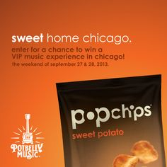 win a vip music experience in chicago! #potbelly #popchips #chicago #music #giveaway #sweetpotato #sweethomechicago