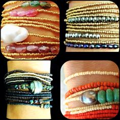 Always three individual strands in every set...always one of a kind... YES we're made in the USA!