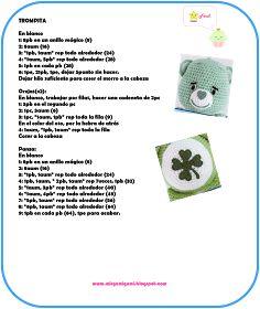 Amigurumi Green Care Beat Crochet