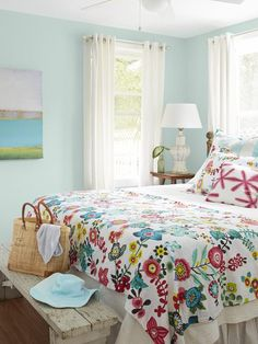 Master Bedroom - From Gross to Great: An Island Home Makeover on HGTV