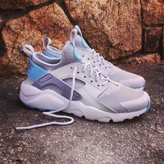 Nike Air Huarache Ultra GS Pure Platinum Grey Size 36 to 40 Price