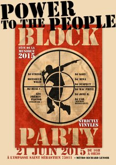 POWER TO THE PEOPLE - HIP HOP BLOCK PARTY -...