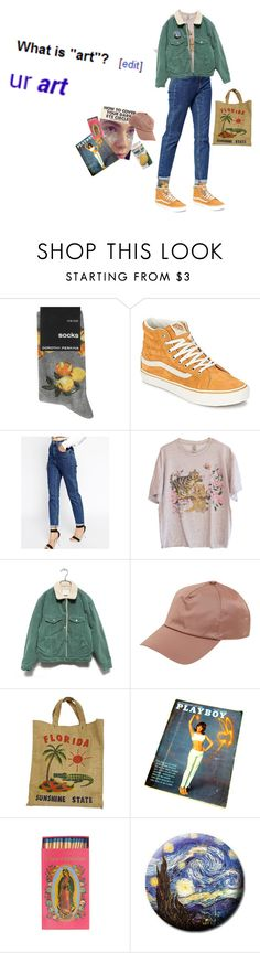 """""""Art hoe"""" by newyhork ❤ liked on Polyvore featuring Dorothy Perkins, Vans, ASOS and Acne Studios"""