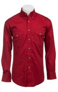 Painted Desert by Wrangler L/S Mens Red Shirt MP3522RX2 | Cavender's