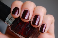 IsaDora - 189 Black Rose #Nailpolish