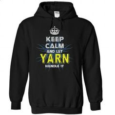 (KeepCalmNew) Keep Calm And Let YARN Handle It - #womens sweatshirt #black sweater. I WANT THIS => https://www.sunfrog.com/Names/KeepCalmNew-Keep-Calm-And-Let-YARN-Handle-It-yrwlpqvrzq-Black-43362731-Hoodie.html?68278