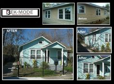 BEKMODE Bungalow Renovation - Houston Heights .  www.bekmode.com  #bekmode