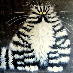 Crafty Cat Mosaic Paintings