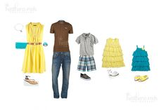 What to Wear- Photography Spring Family Pictures, Teen Pictures, Family Photos, My Photos, Family Picture Colors, Family Picture Outfits, Matching Family Outfits, Clothing Photography, Family Photography