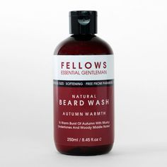 Bottle of Citrus Scented Natural Beard and Hair Shampoo Beard Wash, Hair Shampoo, Hair And Beard Styles, Gentleman, How To Find Out, Essentials, Bottle, Flask, Gentleman Style