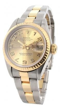 2dc888fdcd9 Rolex Lady Datejust Two-Tone Automatic Wristwatch 1990