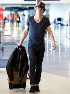 Ian Somerhalder is a serious traveler!