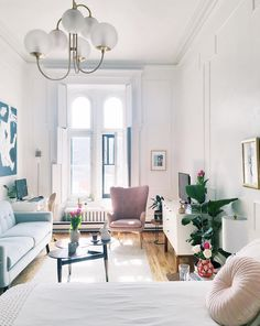 A small, yet truly inspiring studio apartment!