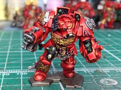 Space Hulk 2014  Brother Omnio  Painted by Rich Goss