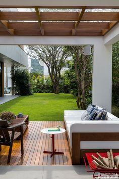 new Ideas for backyard design patio pergola Outdoor Rooms, Outdoor Living, Outdoor Decor, Backyard Patio, Backyard Landscaping, Backyard Ideas, Garden Ideas, Design Exterior, House Ideas Exterior