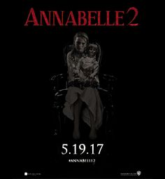 Annabelle 2 poster (official logo)