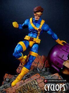 Cyclops Jim Lee version Custom Action Figure