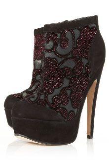 Topshop Embellished Heel Boots: We Love