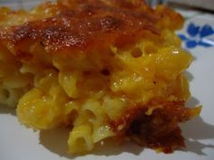 """Easy Homemade """"Crunchy"""" Baked Mac and Cheese Recipe"""