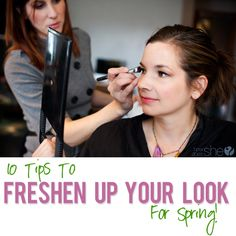 10 Tips To Freshen Your Look For Spring! from howdoesshe.com