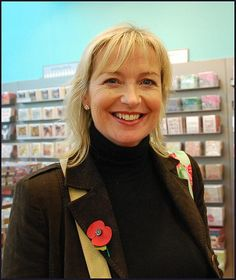 Carol checks out the shops on opening day. Background colour and lighting courtesy of Paperchase. Carol Kirkwood, Female News Anchors, Background Colour, Paperchase, Blonde Color, Celebs, Celebrities, Heartbeat, Beauty Women